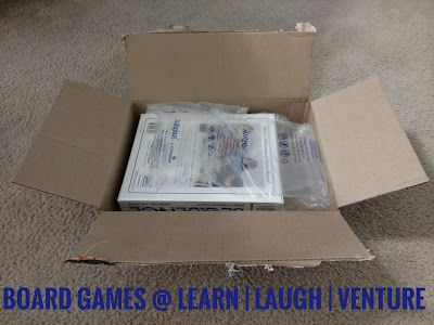 photo of opened amazon box