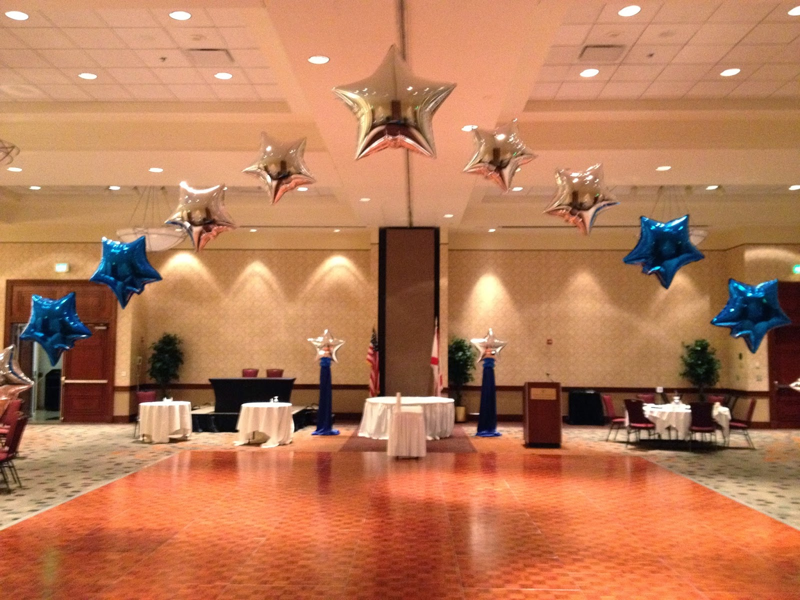 Party People Event Decorating Company Military Ball April
