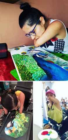 15 Hasil Karya Seni Yang Mengagumkan dari Mereka Yang Memiliki Keterbatasan