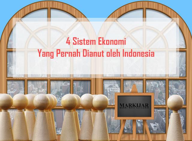 4 Sistem Ekonomi Yang Pernah Dianut oleh Indonesia