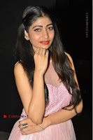 Actress Nidhisha Reddy Pos in Beautiful Pink Dress at Virus Telugu Movie Audio Launch .COM 0024.JPG