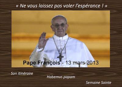 diaporama le pape François