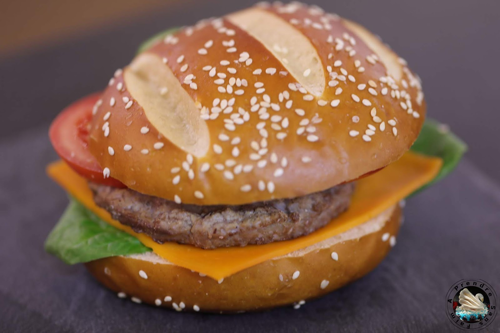 Hamburger brioché au bœuf
