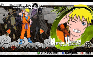 Mod Texture Naruto [Dragon Ball Costume] NSUNI