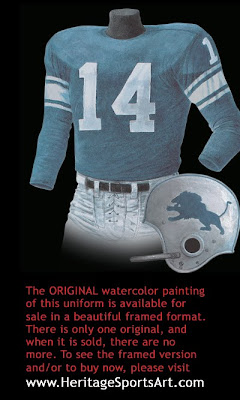 Detroit Lions 19365uniform