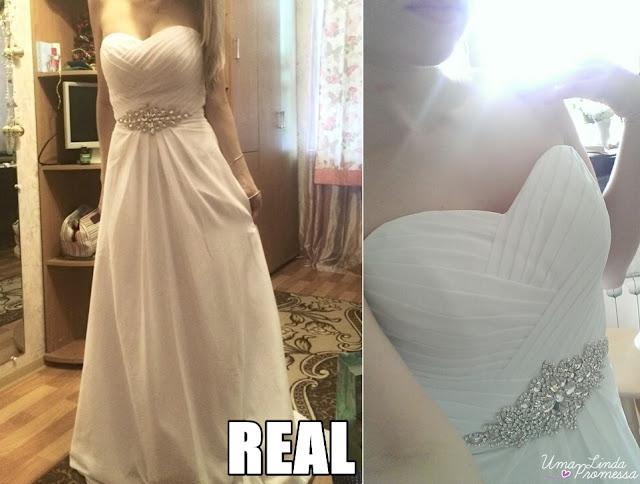 comprar vestido de noiva da China