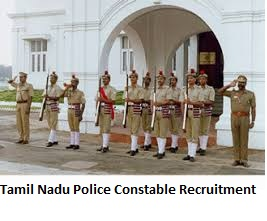 Tamil Nadu Police and Warder Recruitment 2019