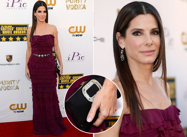 Sandra Bullock in Lanvin – 2014 Critics' Choice Awards