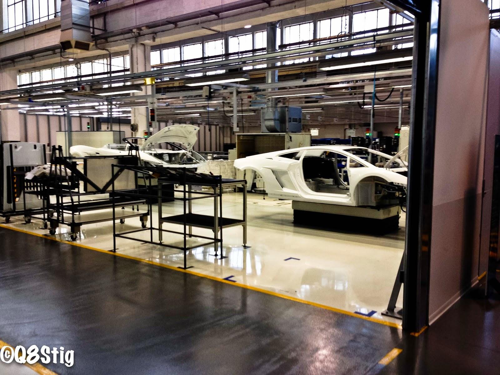 Q8stig Lamborghini Factory Tour