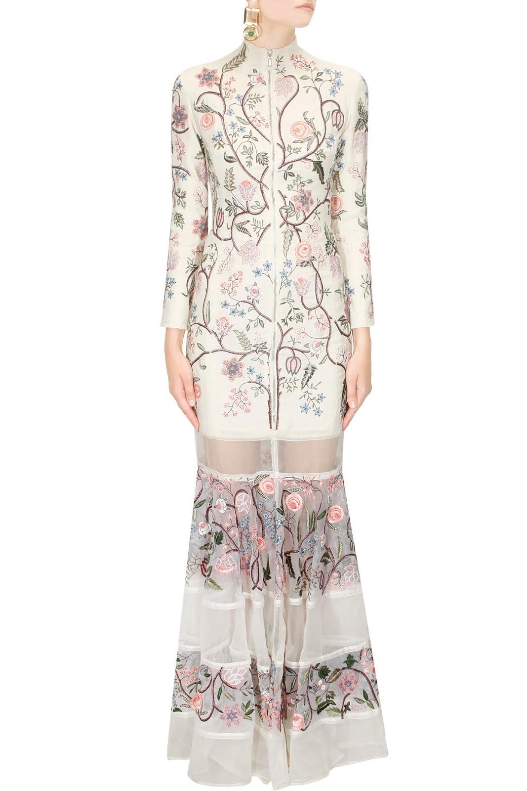 Rahul Mishra's Indo Western Dresses