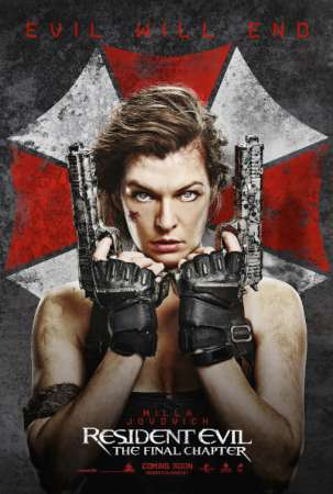 Resident Evil The Final Chapter (Web-DL 720p Ingles Subtitulada) (2016)