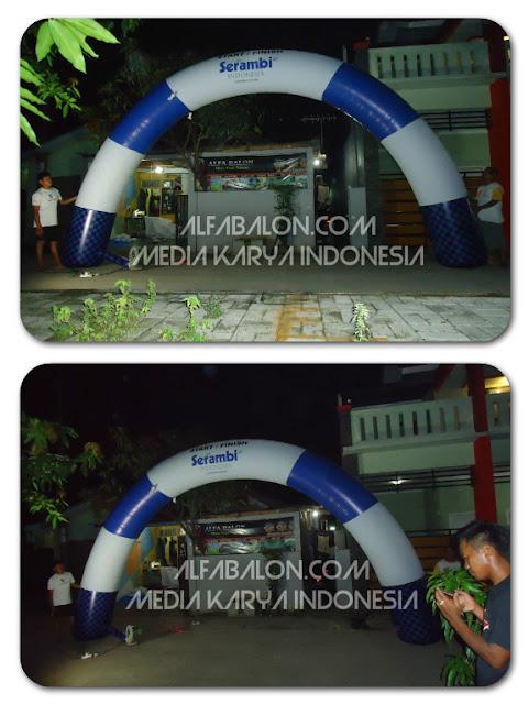 Balon Gate , Balon Gapura Start Finsih