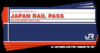 Rail Pass to Japan