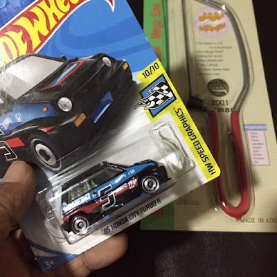 honda city turbo II hot wheels