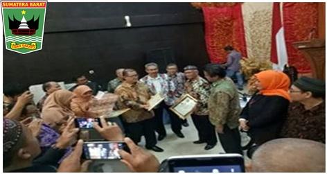 Wagub Nasrul Abit : Searahkan Penghargaan ke PKP RI Sumbar