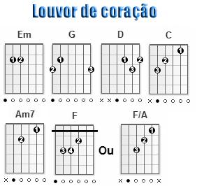 Ainda que a figueira - Fernandinho - Cifra simplificada