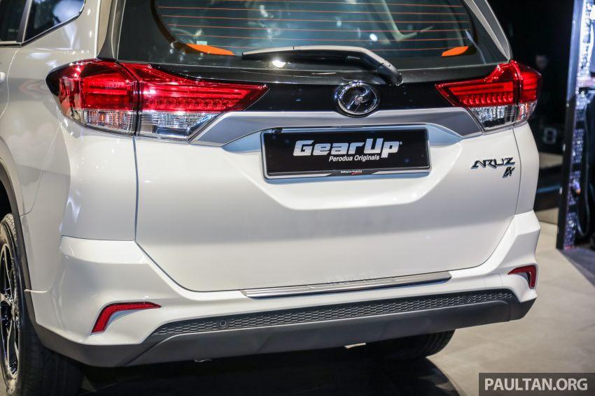 Gambar Dan Harga SUV Perodua Aruz (Terbaru 2019)