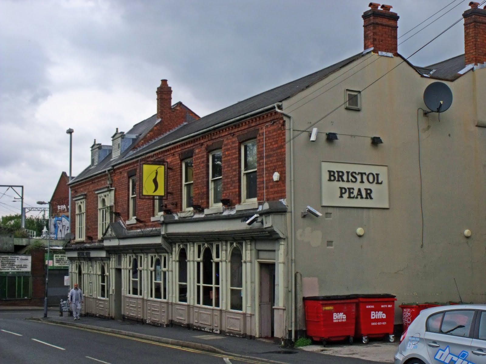 Pubs: Then & Now: #005 Bristol Pear, Selly Oak : 1996 to 2011