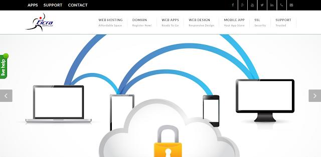 Eicra - Web Design service Domain Hosting company Bangladesh