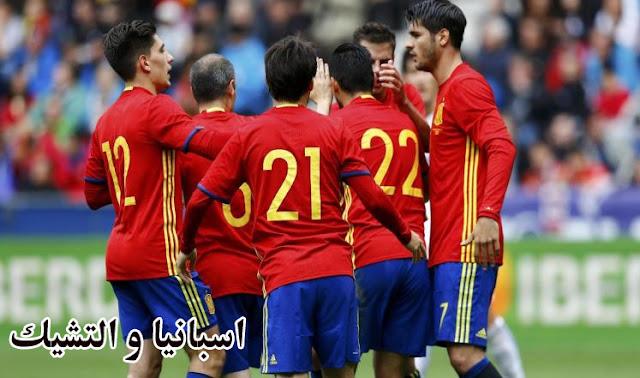 توقيت مباراة اسبانيا والتشيك اليوم الاثنين 13/6/2016 و القناة القنوات الناقلة للمباراة