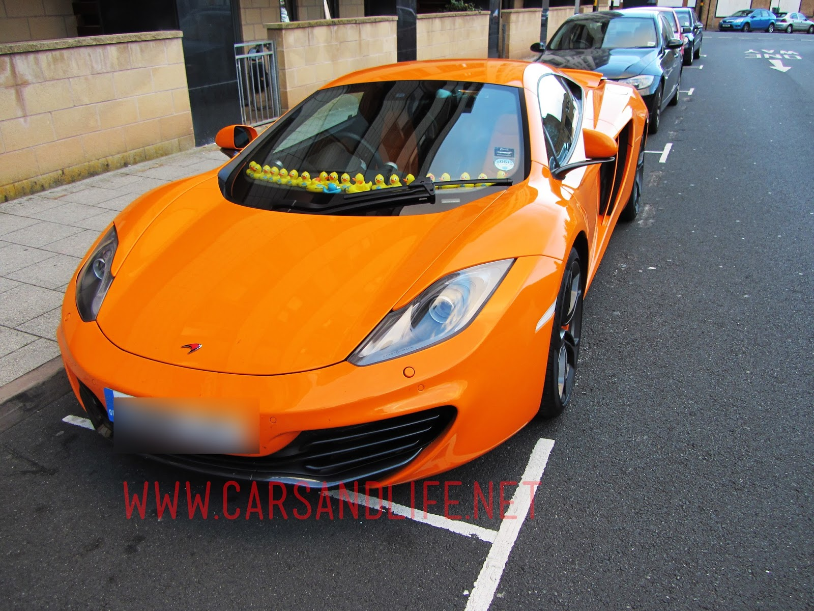 McLaren MP4-12C with Plastic Ducks in Birmingham