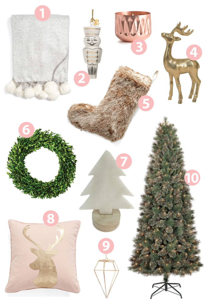 christmas decor favorites holiday home decor interior design blogger