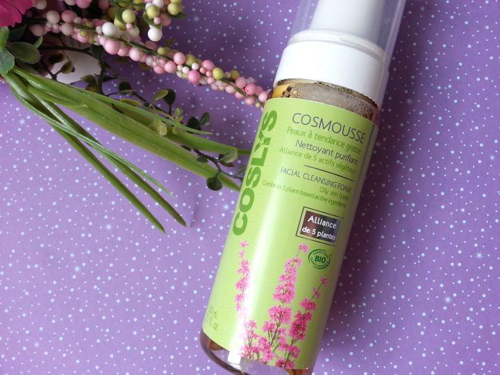 cosmousse pour peaux grasses coslys