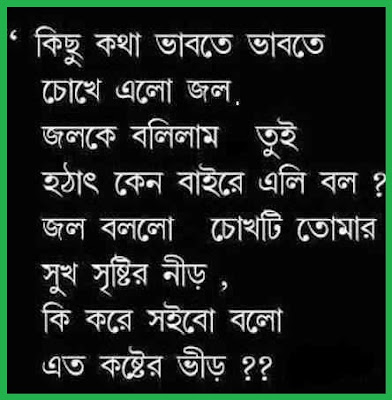 Bangla Sad Quotes
