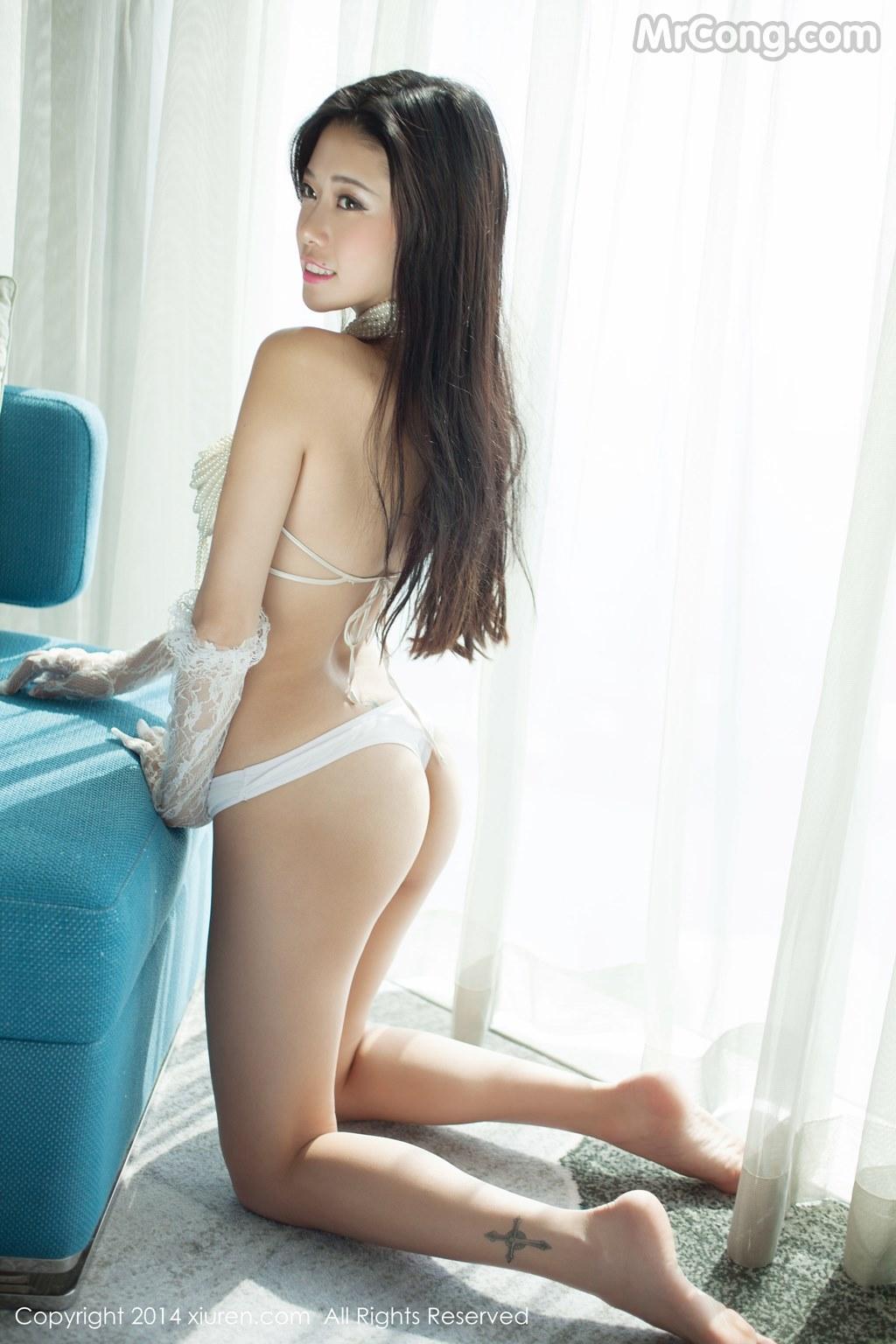 Image MrCong.com-XIUREN-No.147-Luvian-Ben-Neng-028 in post XIUREN No.147: Người mẫu Luvian (本能) (62 ảnh)