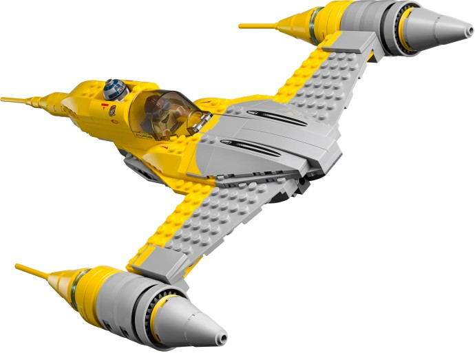 REVIEW: LEGO Star Wars Naboo Starfighter #75092 | The Test Pit