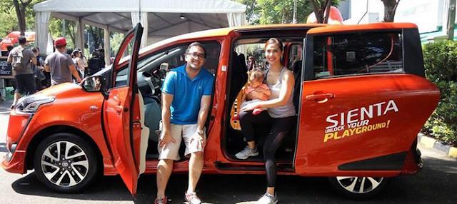 Toyota Sienta, Kendaraan Keluarga yang Gesit