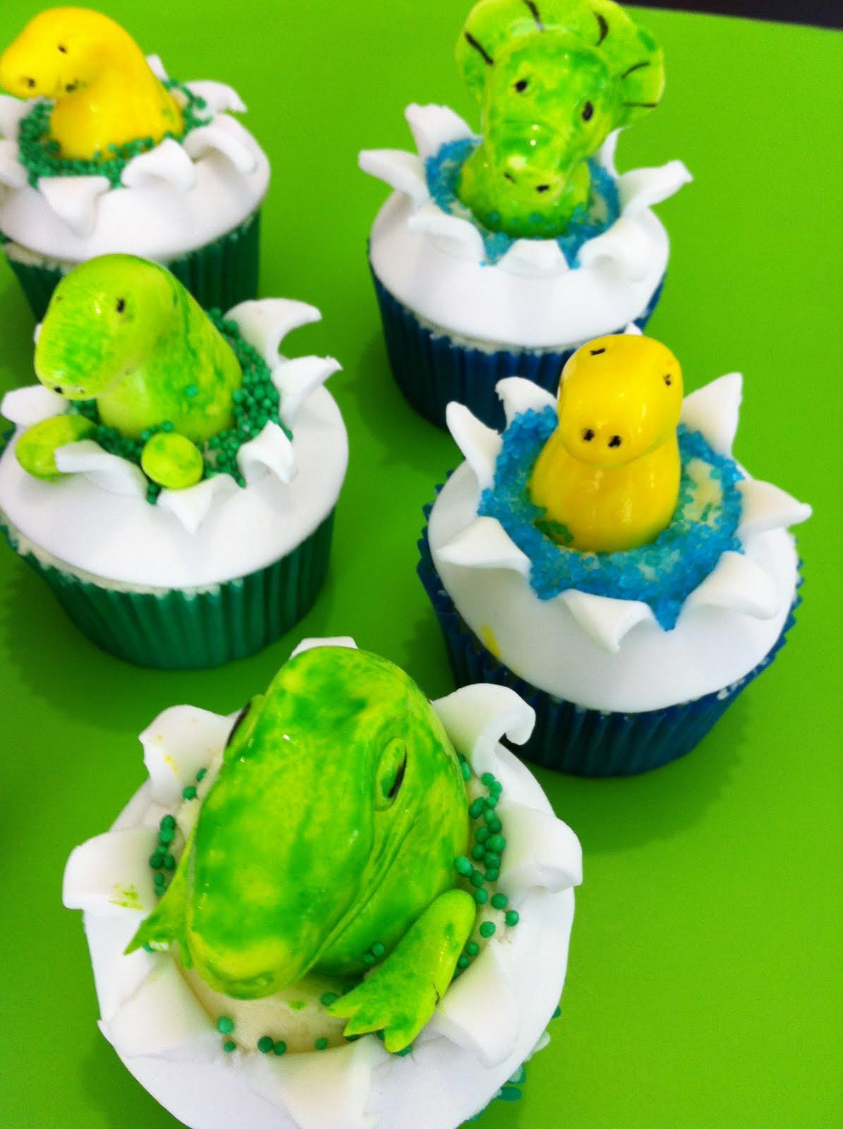 Mandylicious Cakes Baby Dinosaur Cupcakes For Joshy