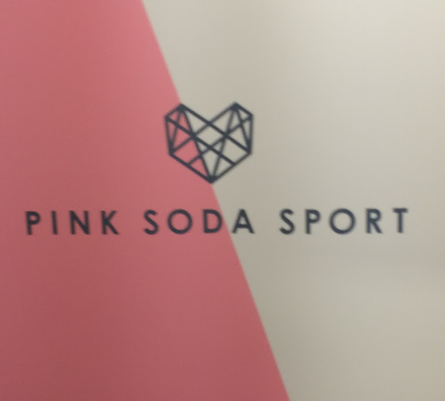 Pink Soda Sport Event Sign