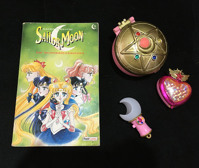 estojinho Sailor Moon da Bandai restaurado