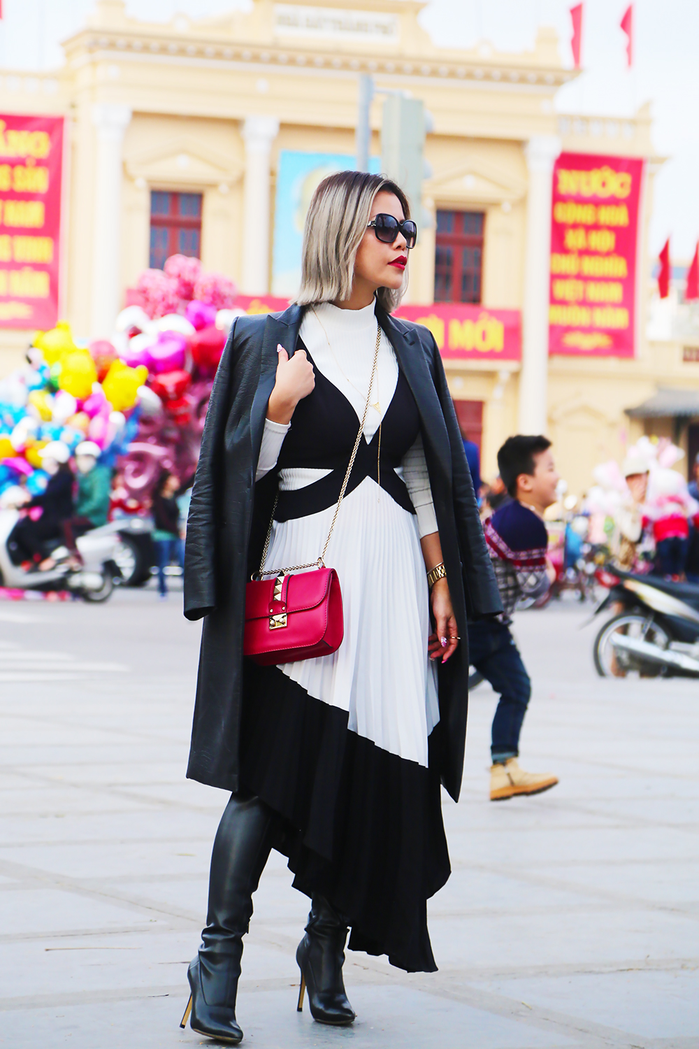 Crystal Phuong- Singapore Fashion Blogger- Street style in Vietnam