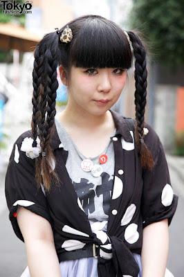 Model Kepang Rambut Panjang, Kepang Kesamping, Kepang  Dua, Kepang Anak