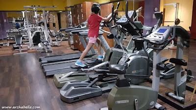 Kelas-kelas khusus di area fitness. (dok:pri)