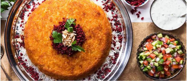 Wild Rice This crispy Persian rice dish puts casseroles to shame