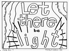 creation story coloring pages | The Good Book Storytime: Creation: God Made the World and ...