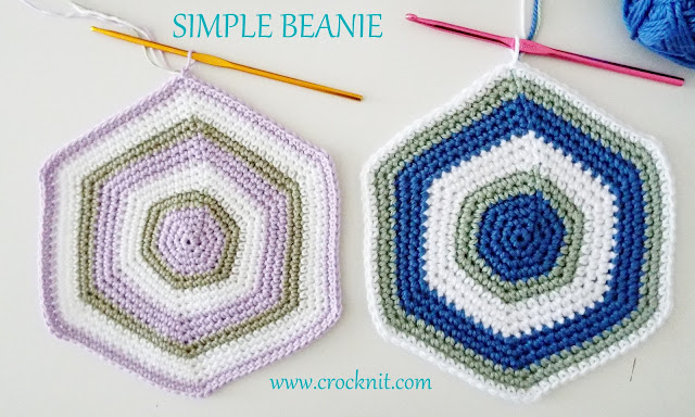 how to crochet a simple beanie, beanies, hats, photo tutorial,