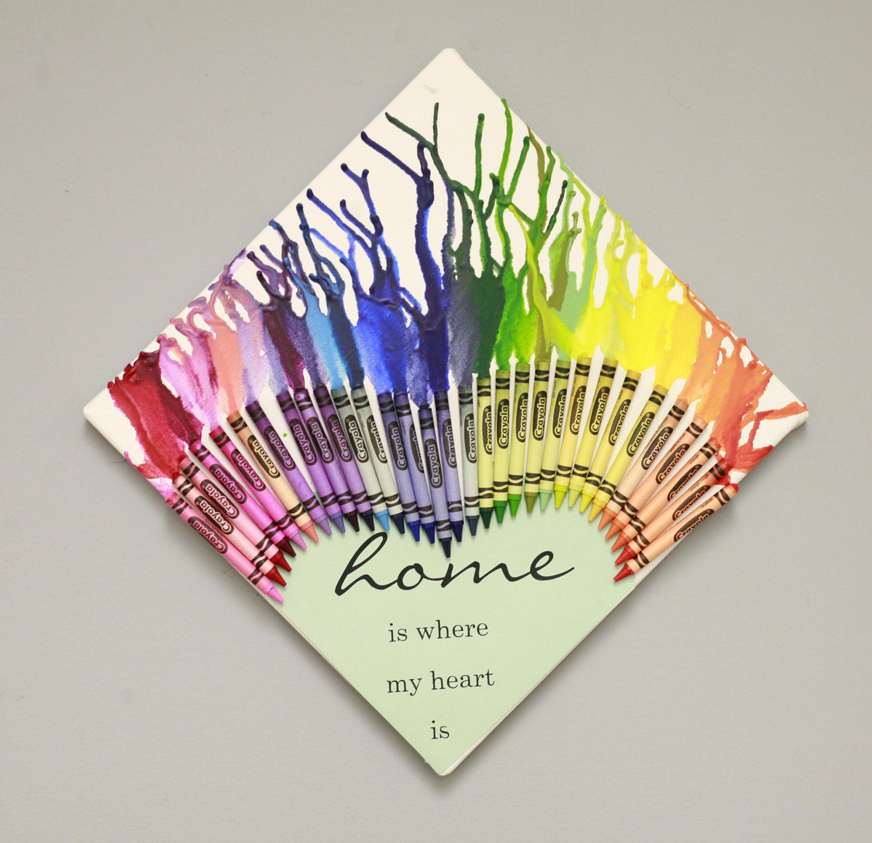 Ben franklin crafts and frame shop diy melted crayon for Crayon diy canvas
