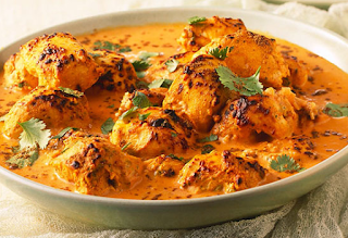 Chicken tikka masala recipe dissert from england english chef chicken tikka masala is among the united kingdoms most popular dishes leading a government minister robin cook to claim in 2001 that it was a true forumfinder Images