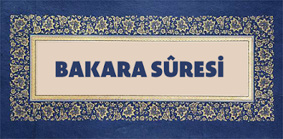Bakara Suresi - 35 . Ayet Tefsiri