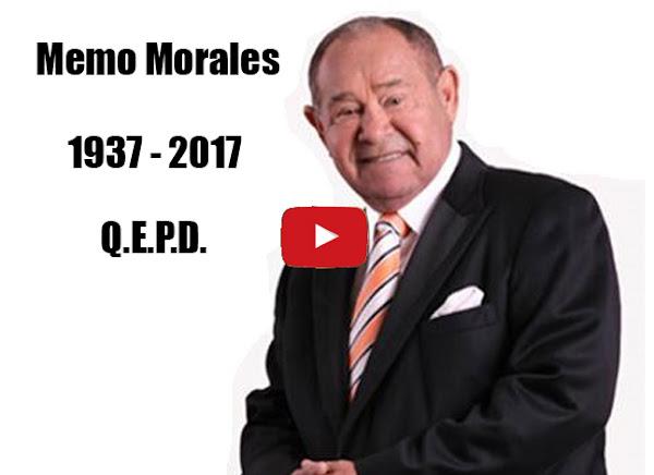 Murió Memo Morales de un infarto