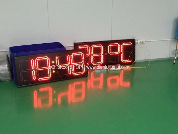 Đồng hồ Led treo tường Giờ : Phút BigKool Ver2 - Cty Niigata Việt Nam