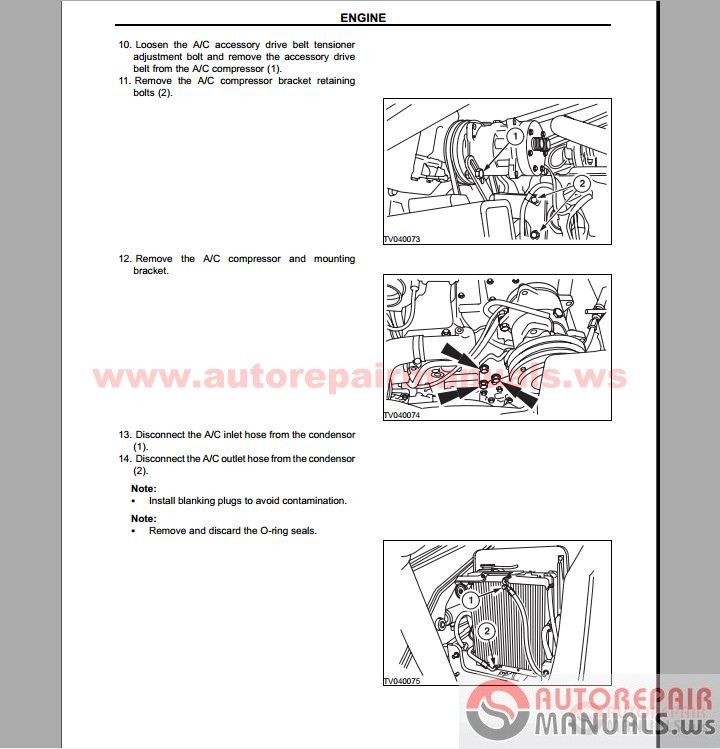 Terex Pegson 4242sr Operation manual