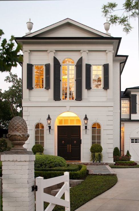 beautiful home exterior seen on Hello Lovely Studio