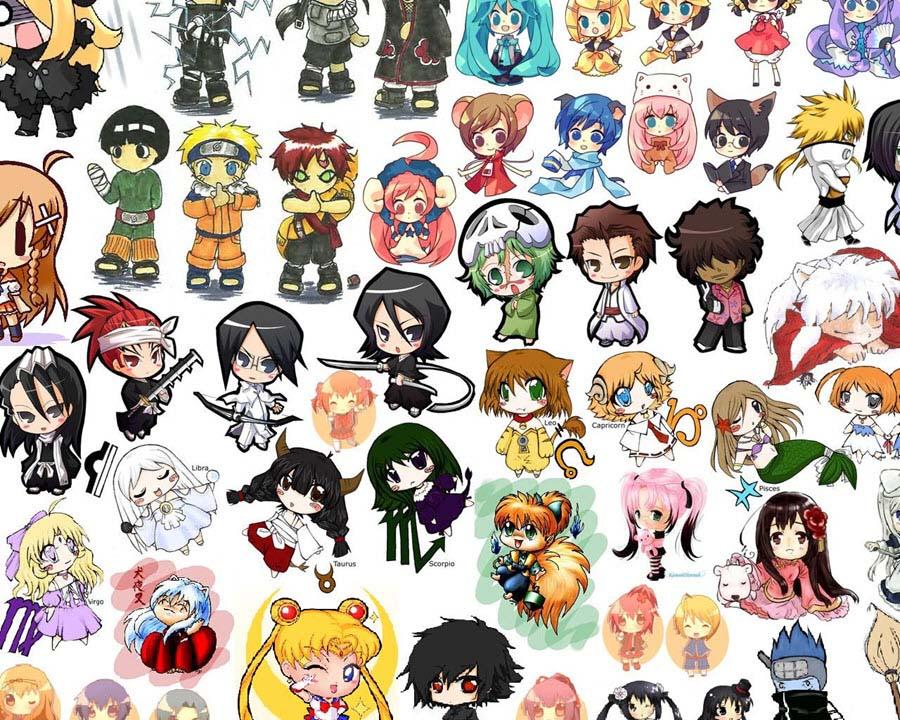 Những hình ảnh nhân vật anime