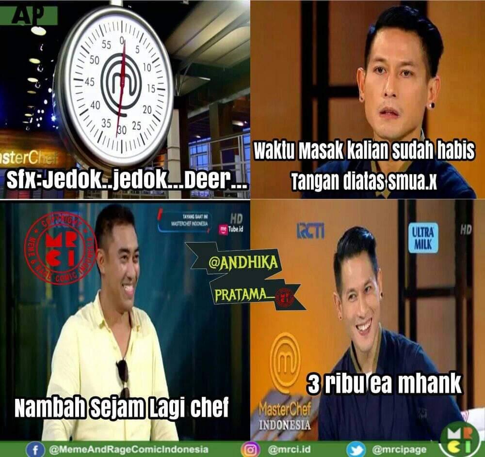 Meme Lucu Master Chef Indonesia Terbaru Buat Ngakak