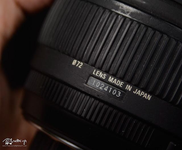 Sigma DC 18-50mm f/2.8 EX Macro HSM (Macro = 1:3)